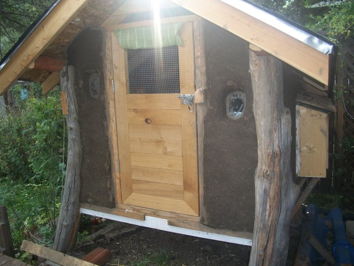 The Cob Chicken Coop